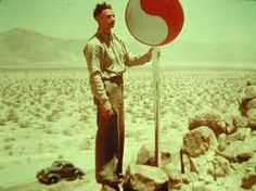 man holding technocracy sign