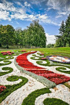 Welcome to Summer! Kiev Flower Show, Kiev, Ukraine