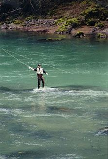 fly fishing, rogue river, oregon