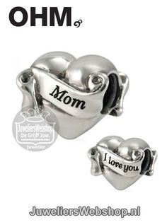 AAL003 Ohm Beads I Love You Mom Bedel