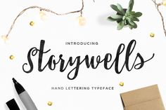 Storywells by typezilla on Creative Market