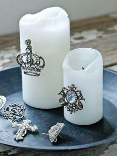 Decorative Candle Jewels