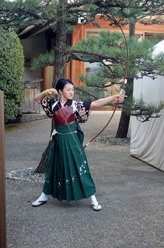 Kyūdō is the Japanese martial art of archery. Experts in kyūdō are referred to as kyūdōka. Kyūdō is based on kyūjutsu, which originated with the samurai class of feudal Japan. Kyūdō is practised by.