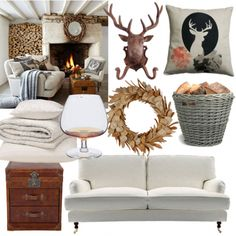 Scottish living room - Snuggle up fireside with these rustic highland-inspired accessories for your living room