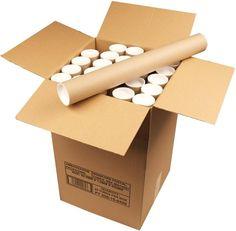 Ambassador Cardboard Postal Tube, diameter x Box of 25