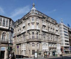 Ruta Vigo señorial   Edificios siglo XIX   Arquitectura viguesa