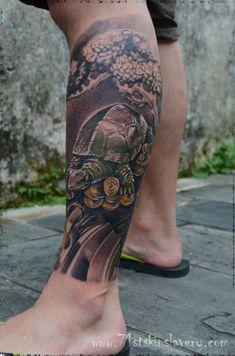 Oriental Sleeve Tattoo - http://16tattoo.com/oriental-sleeve-tattoo-2/