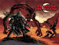 Originally published by DC's Zuda Comics imprint in 2007 and the Winner of the Harvey Award for Best Online Series, High Moon is a unique western and horror genre mash-up about Matthew Macgregor, a former