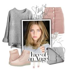 """Face of an Angel"" by lou-lou-di ❤ liked on Polyvore featuring Topshop, Gap, Timberland and Kristin Cavallari"
