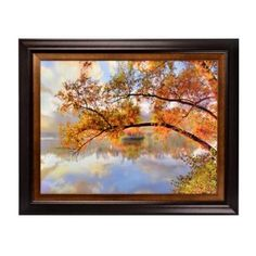 Juniper Lake Framed Art Print