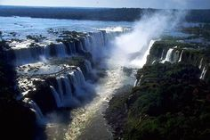 Democratic Republic of Congo. Inga Falls, on the Congo River