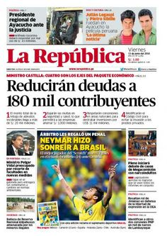 La República Lima 13-06-2014