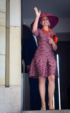 Our queen Máxima, one of world's most fashionable queens. June 19th 2015