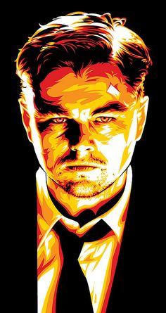 Leonardo DiCaprio Shutter Island Art by Mel Marcelo, via Flickr
