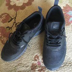 info for 6460b 6cfbd Nike Shoes   Airmax Thea   Color  Black   Size  7.5 Black Nikes,