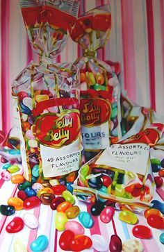 Candy Stripe Jelly Belly by Kate Brinkworth