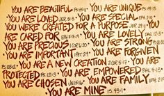 You Are...biblical