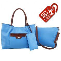 Alfio Young Fiona Blue Handbag