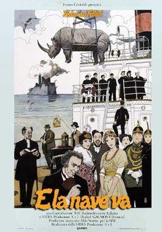 """E la nave va"" (1983). Country: Italy. Director: Federico Fellini. Cast: Freddie Jones, Barbara Jefford, Victor Poletti, Norma West, Peter Collier, Fiorenzo Serra, Sarah Jane Varley"