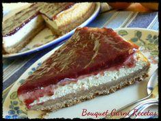 Bouquet Garni Recetas: Cheesecake de naranja y frambuesas
