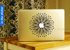 flowers Decal for Macbook Pro Air or Ipad Stickers by inthesticker, $9.99