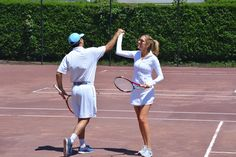 Emily Driscoll and Garret Overlock kicked off their wedding weekend with a mixed doubles tennis tournament. Bridal Hair And Makeup, Wedding Makeup, Hair Makeup, Wedding Weekend, Summer Wedding, Wedding Day, Nantucket Wedding, Tennis Tournaments, Over The Moon
