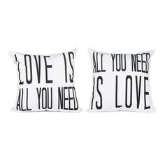 All You Need Is Love Pillows