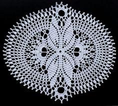 1/2 Oval Doily Pattern