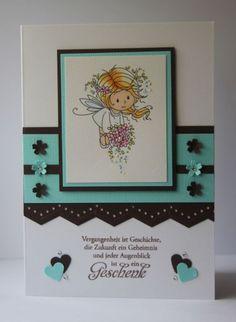 blog.karten-kunst.de. Flower Fairies Wee Stamps, Text Karten-Kunst Weise Worte