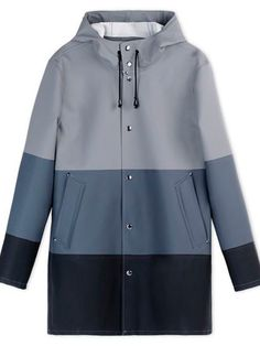 Stutterheim Rain Coat £208 Chuck this on to stay dry and look cool. Anything with a hood is your hair's best friend for humidity-proofing.