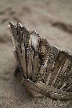 Crown made of old silverware | best stuff