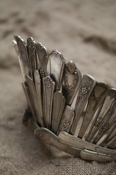 Crown made of old silverware | best stuff