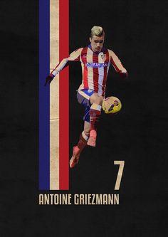 Antoine Griezmann - Atlético Madrid - ❼