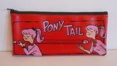 Vintage Rare Pony Tail Pencil Case Mint Never seen this one before Vintage Girls, Vintage Love, Vintage Children, Gender Neutral Toys, Vintage Ponytail, Zipper Pencil Case, Teen Fun, Toys For Girls, Childhood Memories