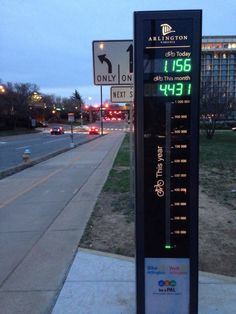 Bicycle counter!