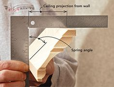 The secret to coping crown molding. - -  Cut the crown at the same angle as the projection and the cope will fit every time by Bill Shaw (free)