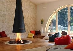 New trends in fireplaces
