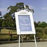 wedding easel