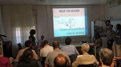 Map on Hand produzione di #mappe cartografiche di alta precisione e qualità per gli #escursionisti  #OpenLabShowcase