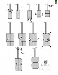 guitar origami - Recherche Google