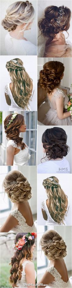 200 Bridal Wedding Hairstyles for Long Hair That Will Inspire / www.himisspuff.co...