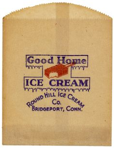 Jennifer Kennard of 'Letterology' has compiled a collection of vintage ice cream wrappers and packaging from the to The. Ice Cream Packaging, Beer Packaging, Vintage Packaging, Vintage Branding, Vintage Labels, Vintage Graphic Design, Graphic Design Illustration, Vintage Designs, Vintage Lettering