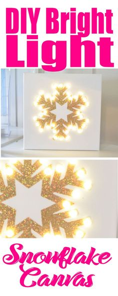 DIY Bright Light Sno