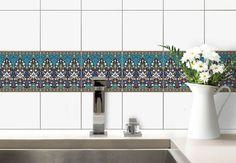 Adesivi murali - Adesivo murale - Decorazione per piastrelle - fiori di Sarvar