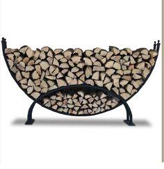 Mega luksusowy stojak na drewno kominkowe XXL :: Extrahome