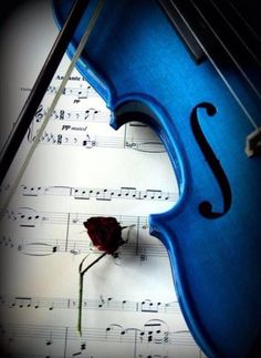 "The Violinist | ""The greatest music is made for love, not for money."" ~ Greg Lake"
