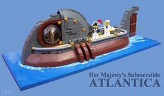 Her Majesty's Submersible Atlantica | Flickr - Photo Sharing!