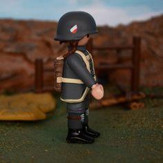 Playmobil Custom - Soldado aleman paracaidista , German Soldier  WW2
