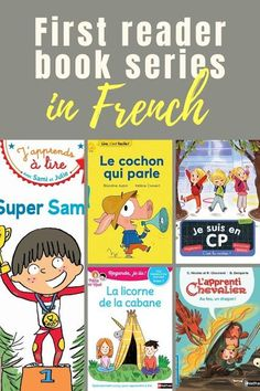 First reader books in French Language Study, Learn A New Language, Second Language, French Language, French Resources, Writing Resources, Hello English, Read In French, French Pictures
