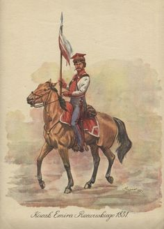 Kozak Emira Rzewuskiego 1831.